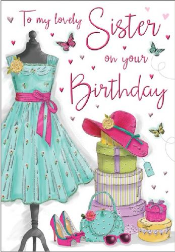 To My Lovely Sister On Your Birthday